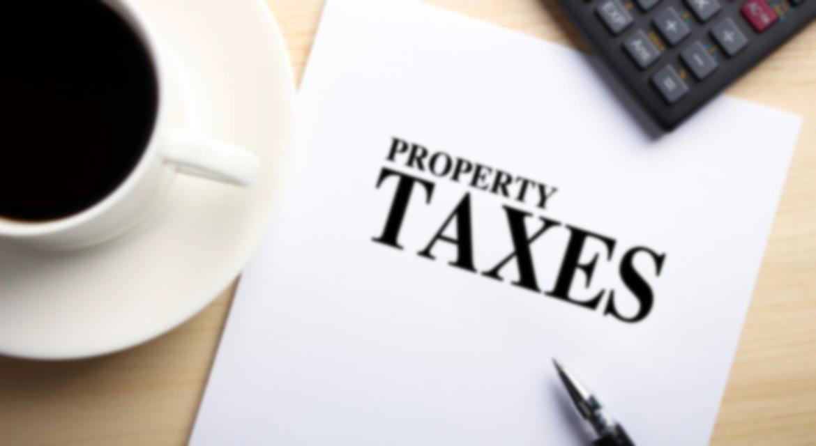 Property Taxes Due NEW